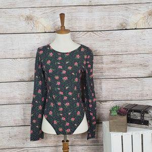 3/$25 NWT Primark Polka Dot Rose Bodysuit